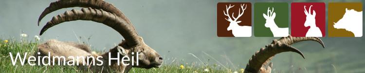 Weidmanns Heil in der Jägersprache