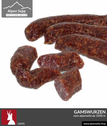 Gamswurzen Alpenwild Rohwurst kaufen