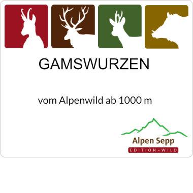Gamswurzen Alpenwild Wurst