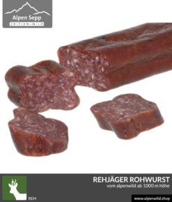 Rehjäger Alpenwild Kantwurst kaufen