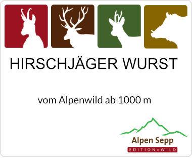 Hirschjäger Alpenwild Wurst