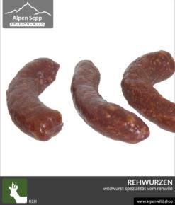 Rehwurzen - Wildwurst Spezialität vom Rehwild
