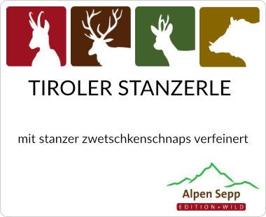 Tiroler Stanzerle mit Stanzer Zwetschkenschnaps verfeinert