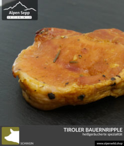 Tiroler Bauernripple heißgeräuchert