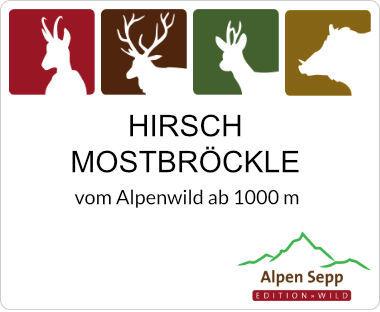 Hirsch Möstbröckle vom Rotwild