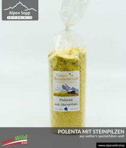 Polenta mit Steinpilzen aus Wetter's Spezialitäten Welt