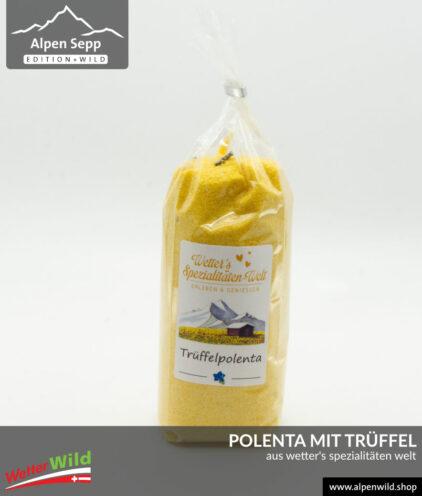 Polenta mit Trüffel aus Wetter's Spezialitäten Welt