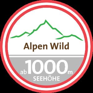 Alpen Wild ab 1000m Seehöhe Siegel