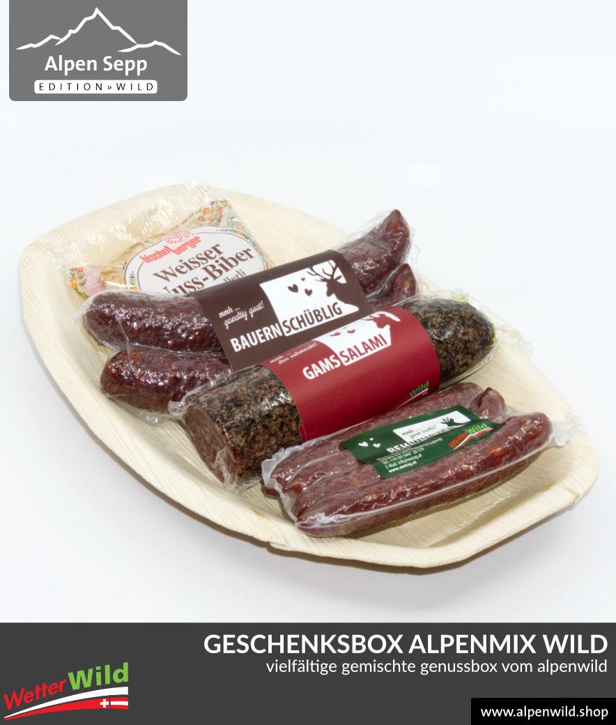 Geschenkbox ALPENMIX WILD
