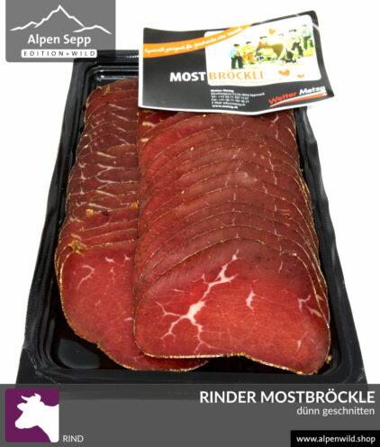 Rinder Mostbröckle, dünn geschnitten